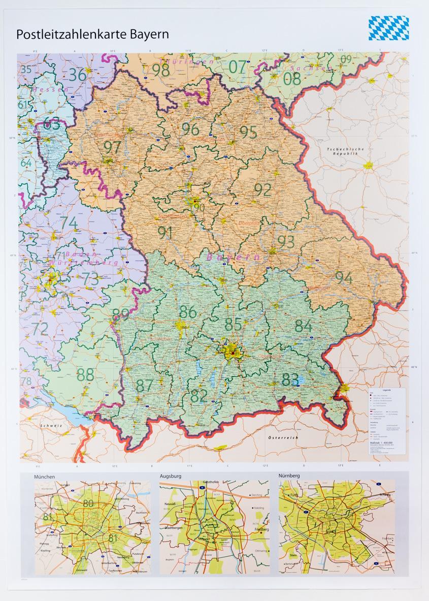 Plz Karte Deutschland Kostenlos Download.Plz Karte Bayern Onlinebieb